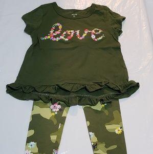 Carter's Toddler Girl 2pc Set Size 2T